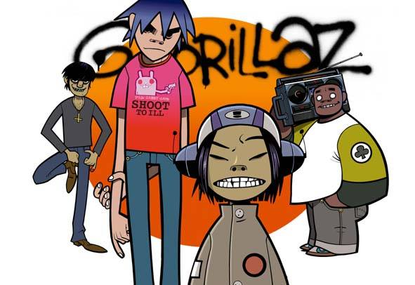 Gorillaz/ Photo: Facebook @Gorillay