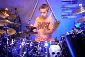 Avery Molek, bubnjar/Photo: YouTube printscreen