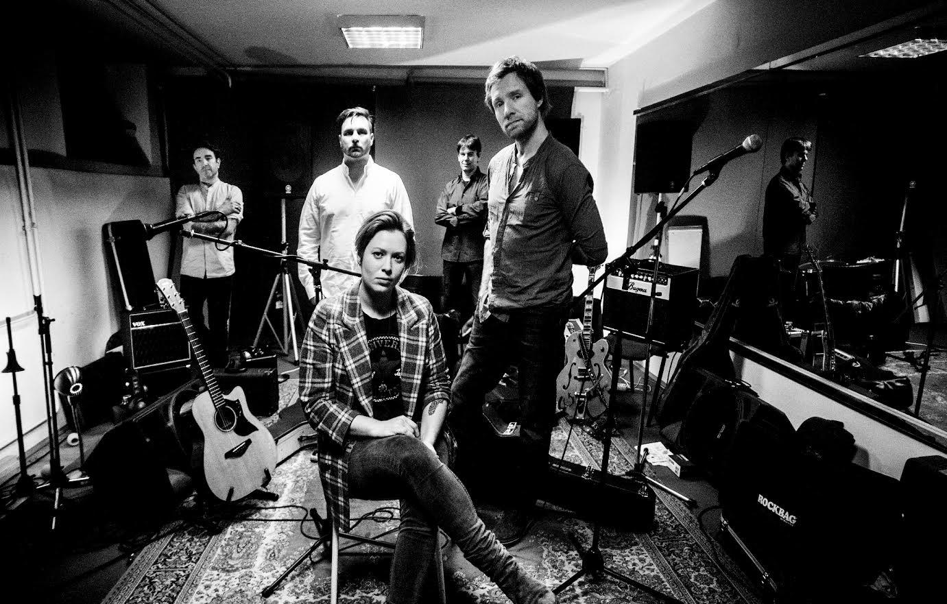 Ana Ćurčin and the Band/ Photo: Emma Szabo
