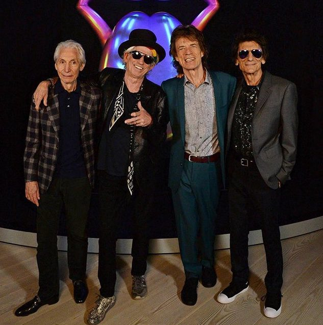 Photo: Facebook.com@therollingstones