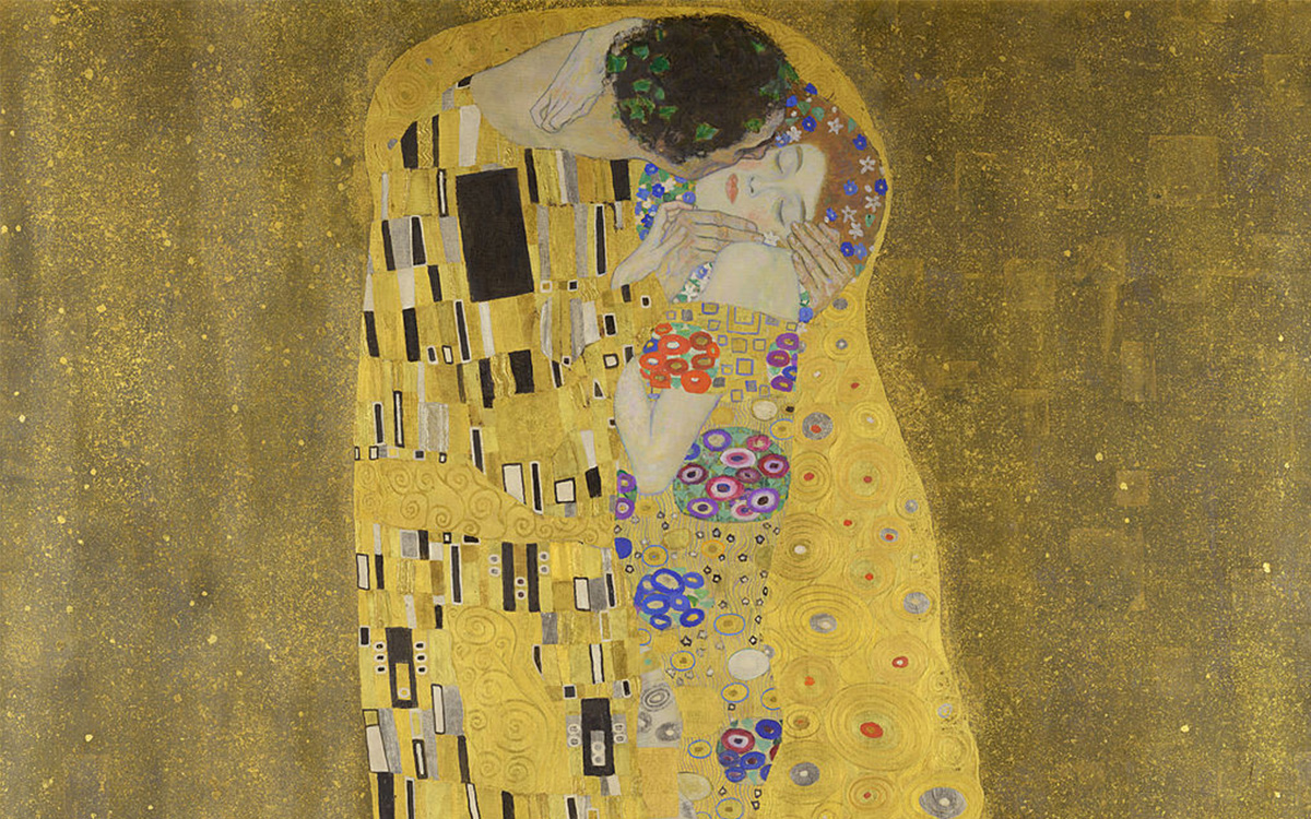 Poljubac, Gustav Klimt/ Photo: wikipwdia.org