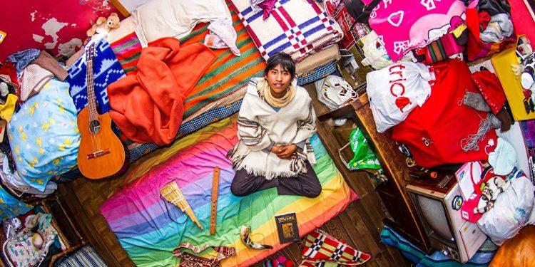 Marselo, 18 godina, srednjoškolac, La Paz (Bolivija) / Photo: John Thackwray