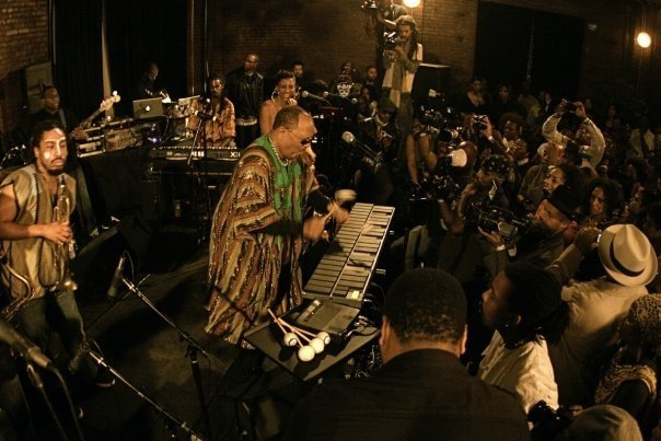 Roy Ayers/Photo: facebook@Roy Ayers featuring The Common Ground Collective
