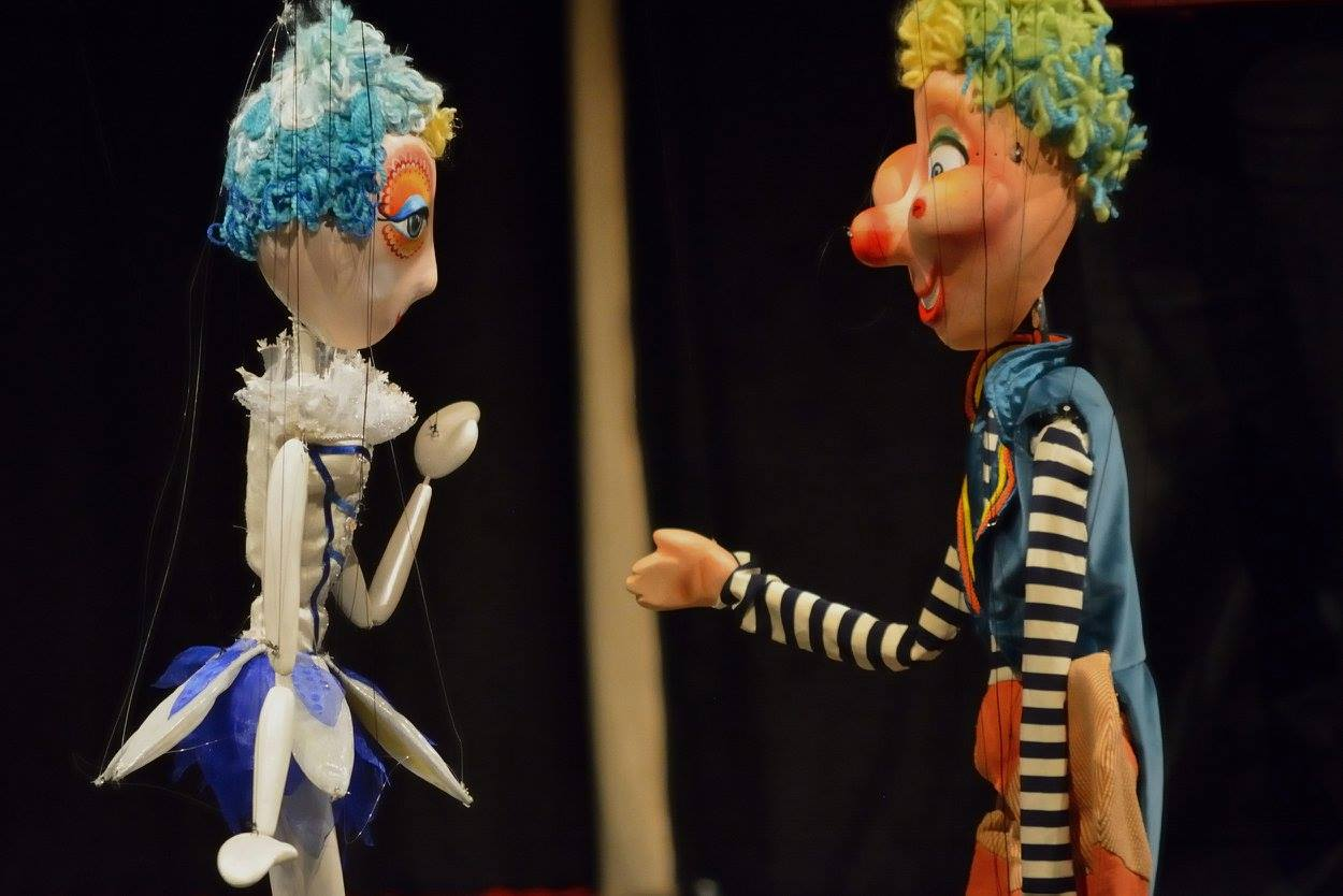 Cirkus Mario & Neta/ Photo: Facebook @lutkarskisusreti