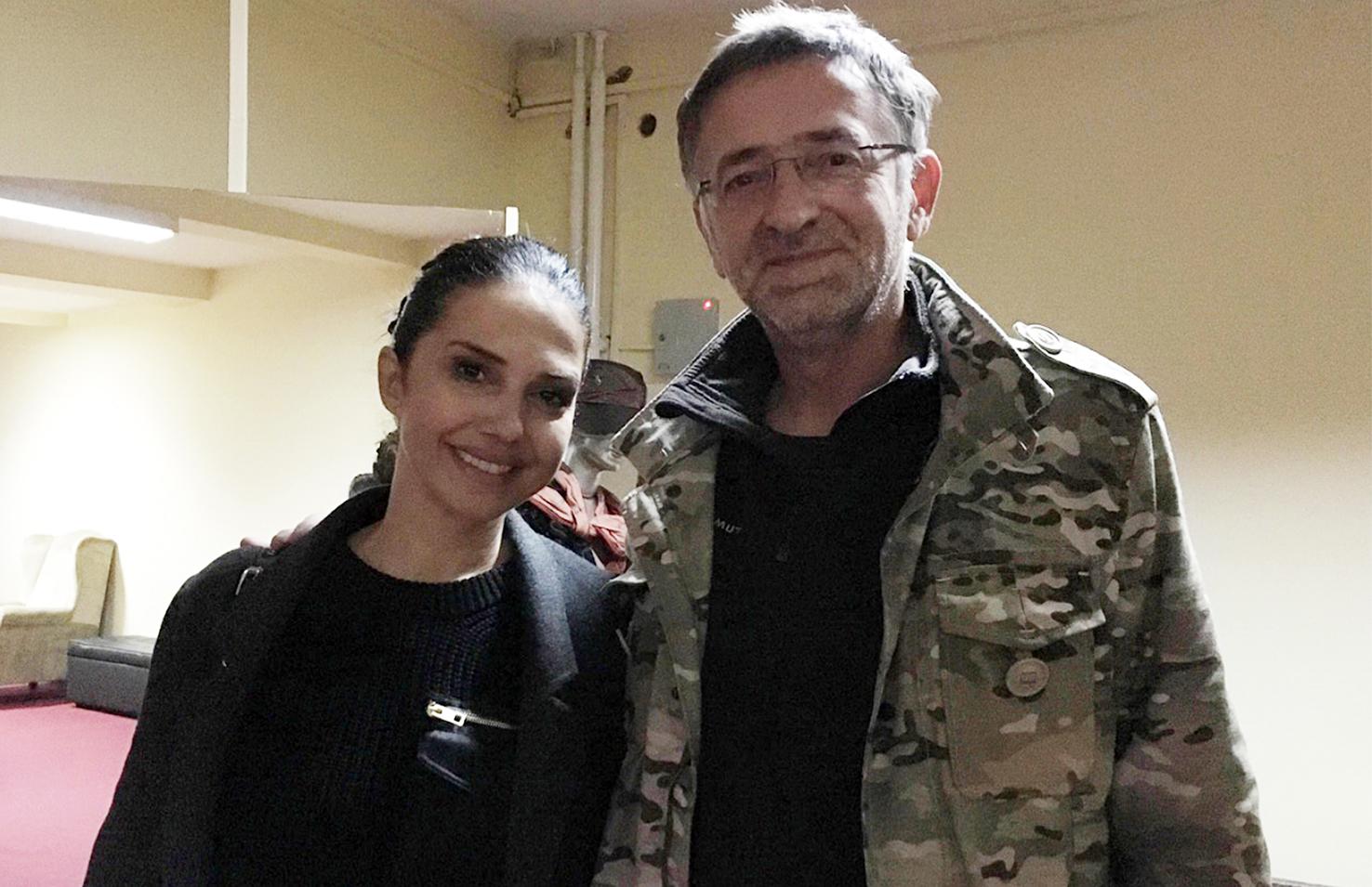 Nataša Ninković, Zoran Cvijanović/Photo: M.B.