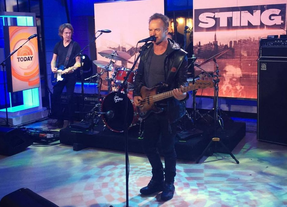 Sting/ Photo: Facebook @sting