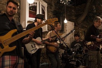 Di Luna Blues Band/ Photo: Facebook @dilunabluesband
