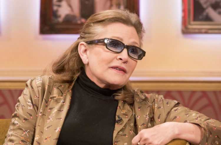Keri Fišer/Photo: S Meddle/ITV/REX/Shutterstock Carrie Fisher 'The Paul O'Grady Show' TV Programme, London, Britain - 30 May 2014