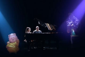 Ariana Grande i Stivi Vonder/ Photo: youtube.com printscreen