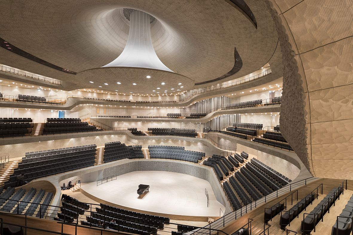 Filharmonija na Labi/Photo: elbphilharmonie.de@Iwan Baan