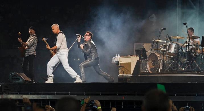 U2/ Photo: facebook @u2