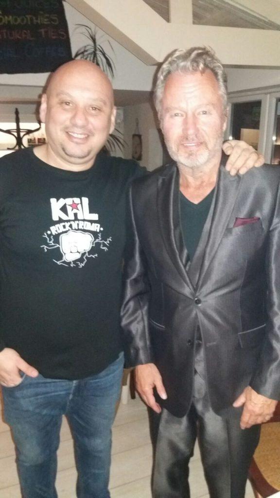Dragan Kal i Džon Sevidž/ Photo: Promo