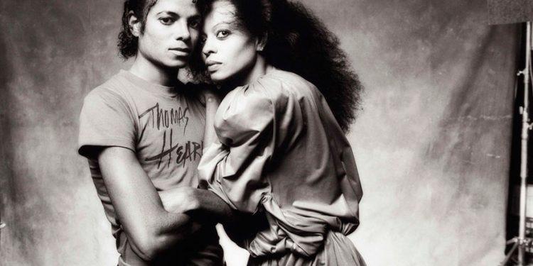 Majk Džekson i Dajana Ros/Photo: Norman Seeff
