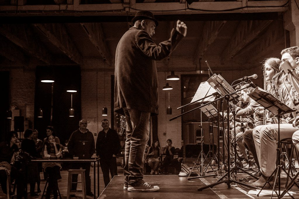 Mikser Big Band/ Photo: Facebook@mikserbigband