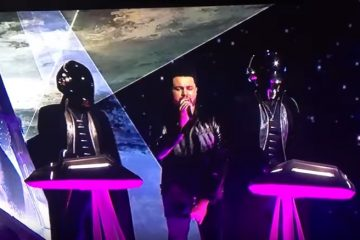 TheWeeknd i Daft Punk/ Photo: youtube.com printscreen