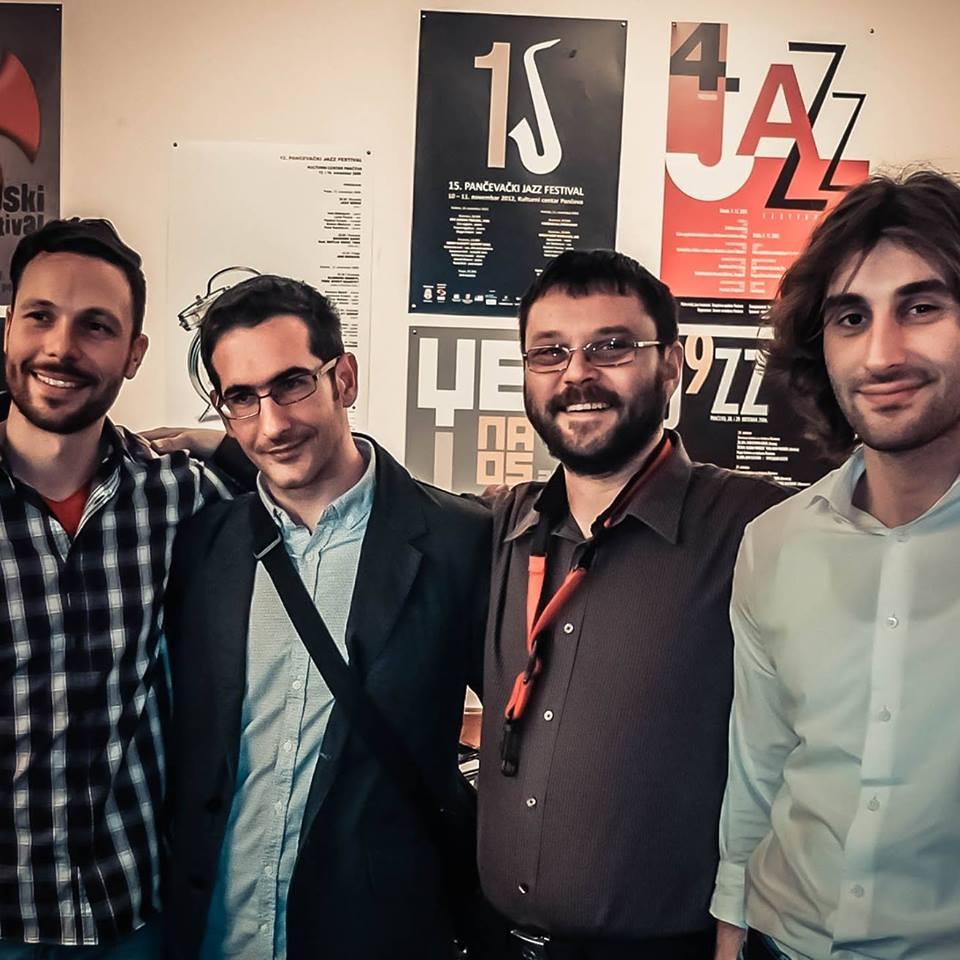 Milan Petrović Quartet/ Photo: Facebook @MilanPetrović Quartet