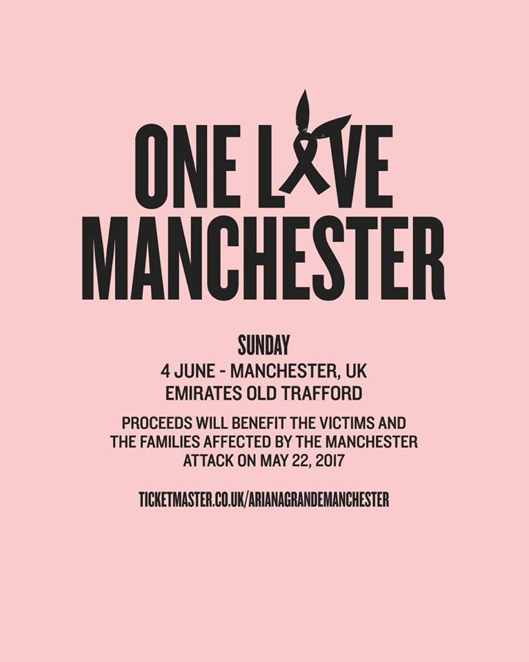 One Love Manchester/Promo
