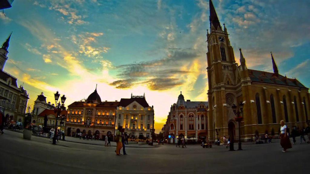 Novi Sad/Photo: YouTube printscreen