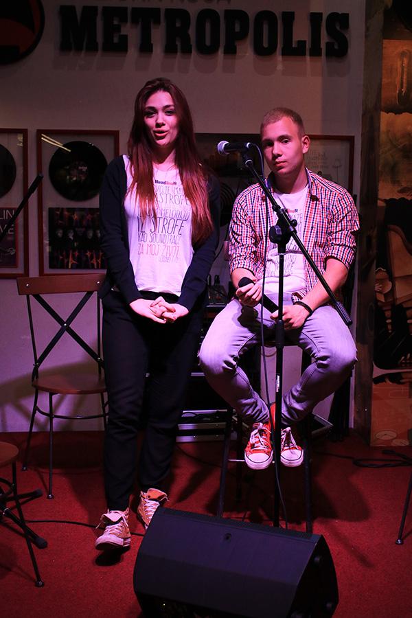 Dejana Radaković i Andreja Ignjatović/ Photo: Janko Đurić