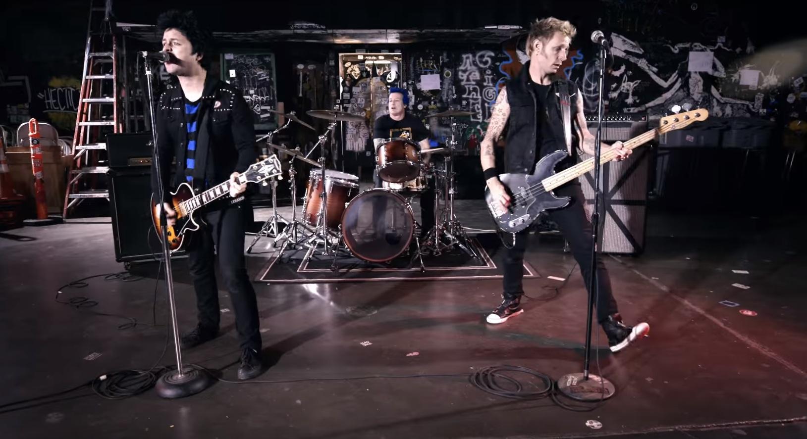 Green Day/Photo: YouTube printscreen