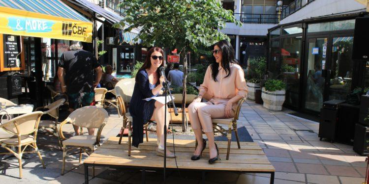 Book&Roll Open Day #3. Marija M. Karan i Bojana Đoković/Photo: Janko Đurić