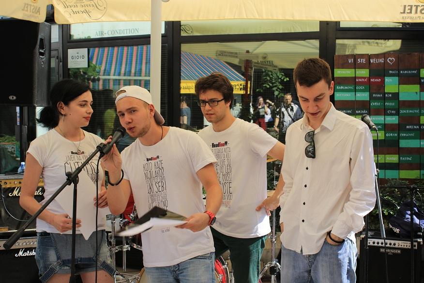 Book&Roll Open Day #3. Mladi Džek promocija spota/Photo: Janko Đutić