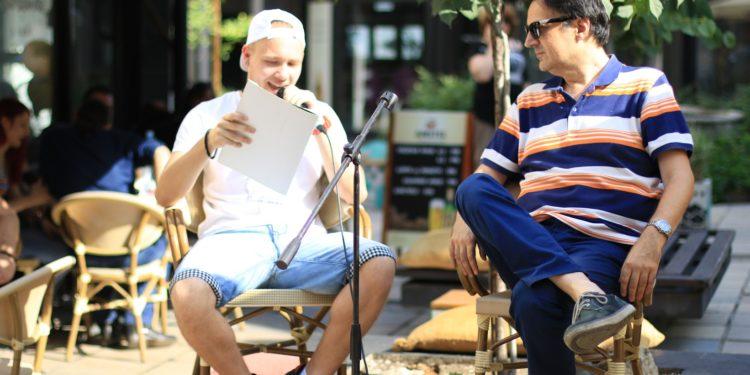 Book&Roll Open Day #3, Andreja Ignjatović i vladimir Đurić Đura/Photo: Janko Đurić