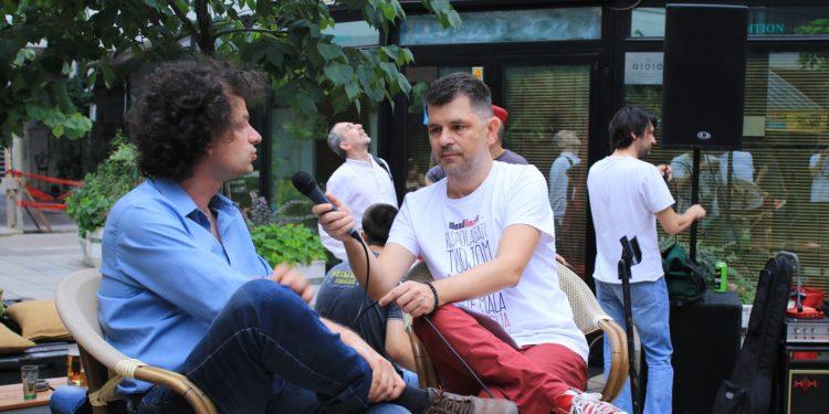 Book&Roll Open Day #3, Marko Aleksić i Aleksandar Ignjatović / Photo: Janko Đurić
