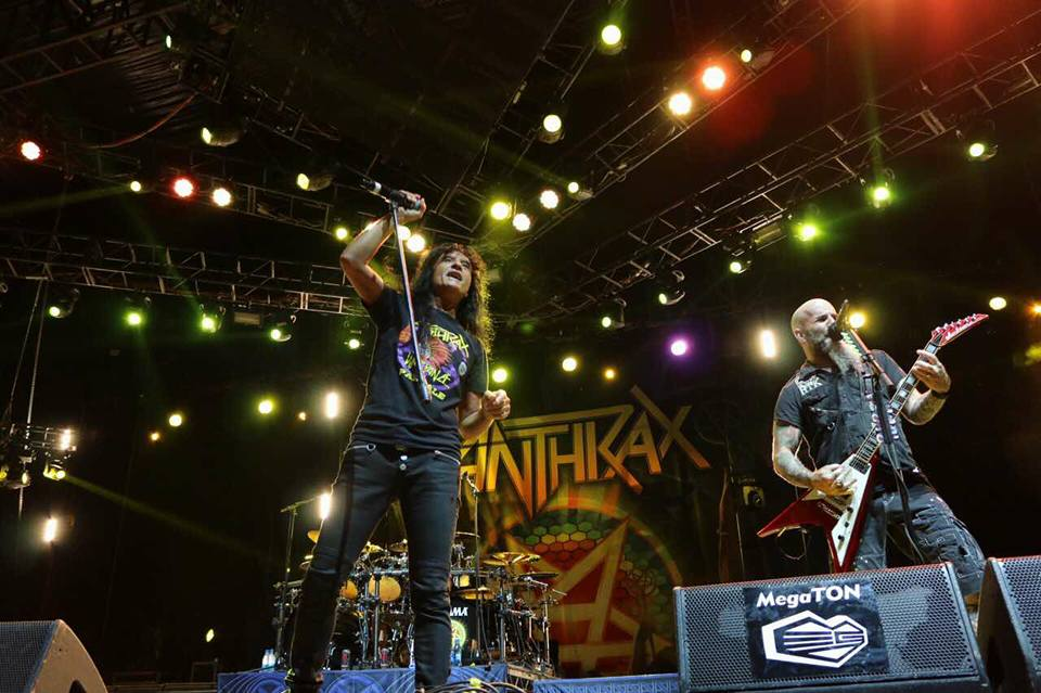 Anthrax/ Photo: Facebook @arsenalfest