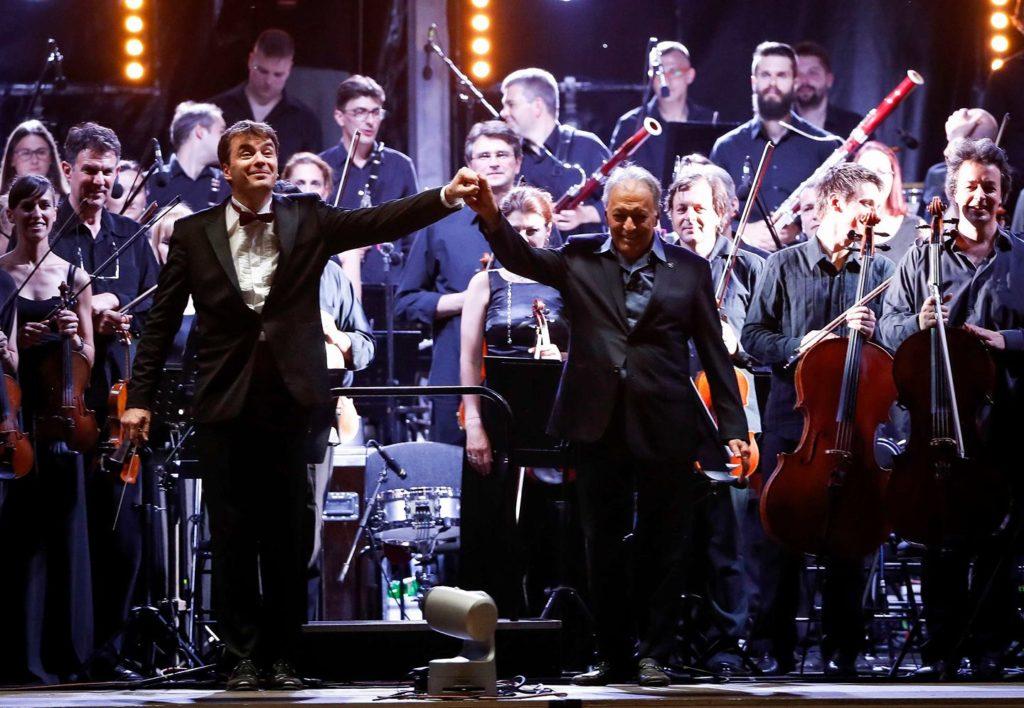 Beogradska filharmonija, koncert na otvorenom/ Photo: Facebook @bgfilharmonija