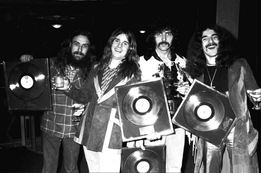 Black Sabbath, 1973/ Photo: Facebook @BlackSabbath