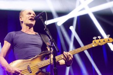 Sting/facebook@sting, Photo: Martin Kierszenbaum