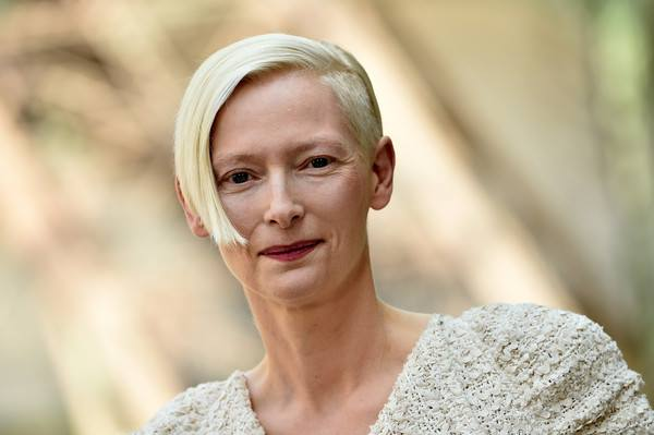 Tilda Svinton/Photo: facebook@tildaswintonnet