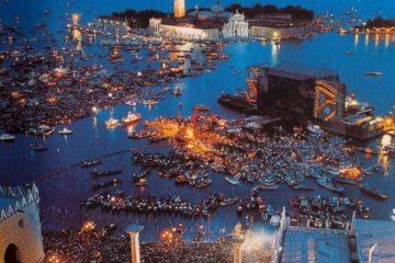 Pink Floyd, Venecija 1989./Photo: Reddit
