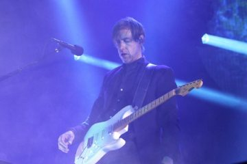 Ed OBrajen, Radiohead/Photo: YouTube printscreen