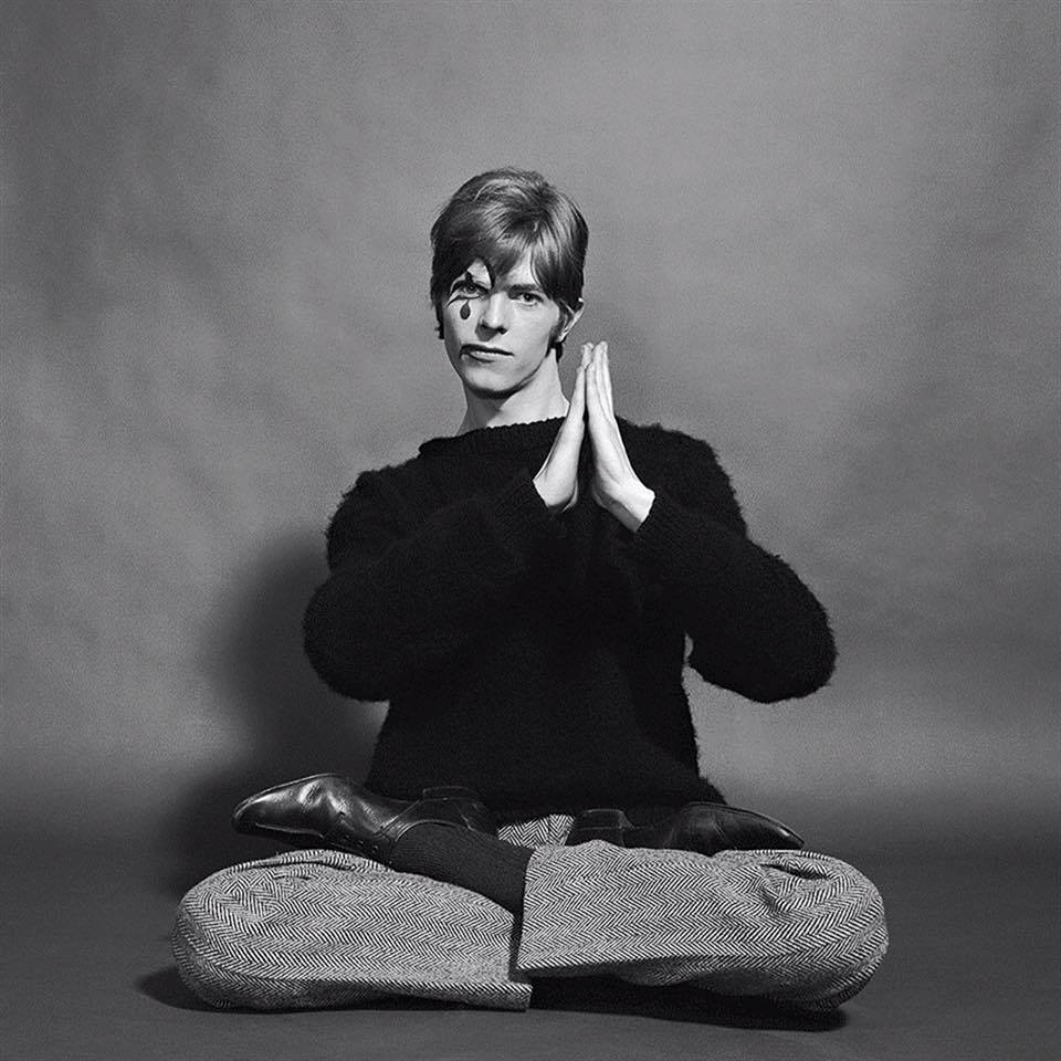David Bowie by Gerald Fearnley/facebook@Bowie Unofficial
