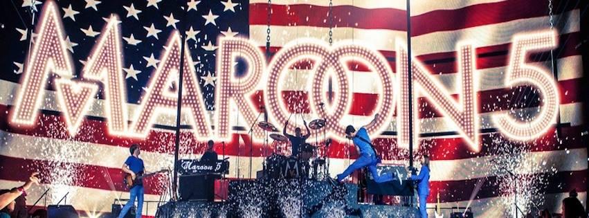 Maroon 5/Photo: facebook@maroon5