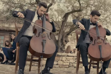 2Cellos/Photo: YouTube printscreen
