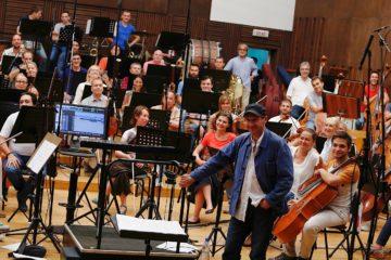 Ralf Fajns  u BG filharmoniji/Photo: BG filharmonija