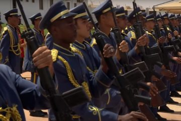 Libijski vojni orkestar/Photo: YouTube printscreen