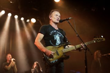 Sting Commodore Ballroom, Vancouver BC. Feb. 1, 2017 57th & 9th Tour Photo: Rebecca Blissett