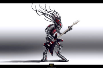 Alien guitarist/Photo: agupieware.com