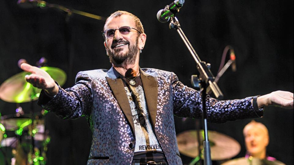 Ringo Star/Photo: Facebook@ringostarrmusic