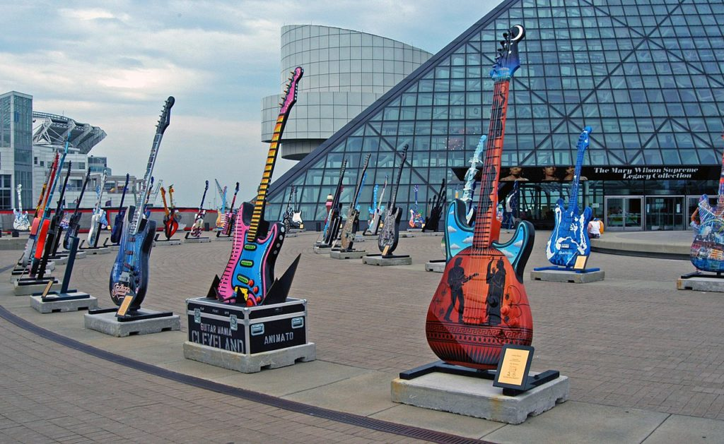Rock & Roll Hall of Fame/Photo: wikipedia.org, Andrew Hitchcock - Flickr