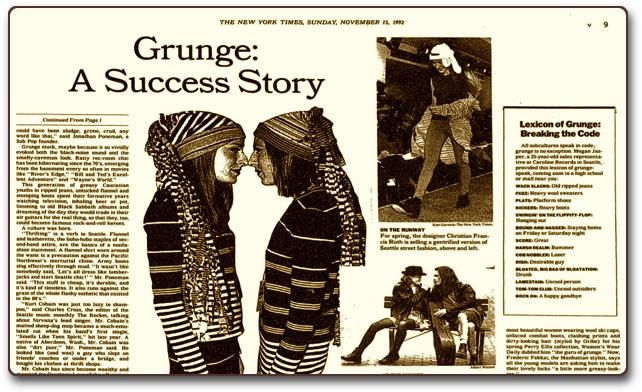 Grunge rečnik/Photo: reprint The New York Times