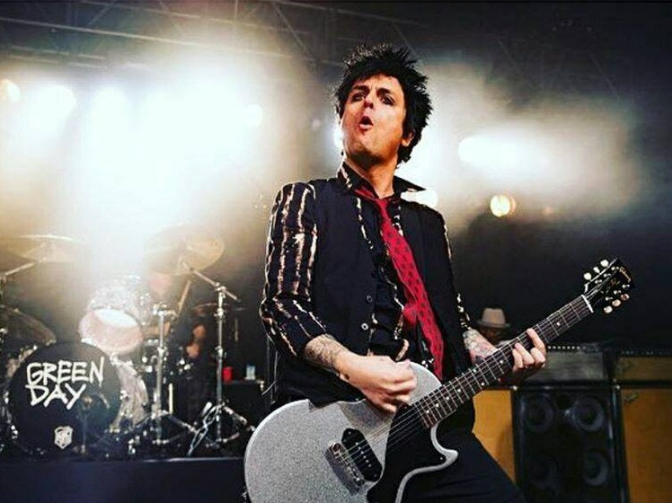 Bili Džo Armstrong, Green Day/Photo: facebook@BJAofficial