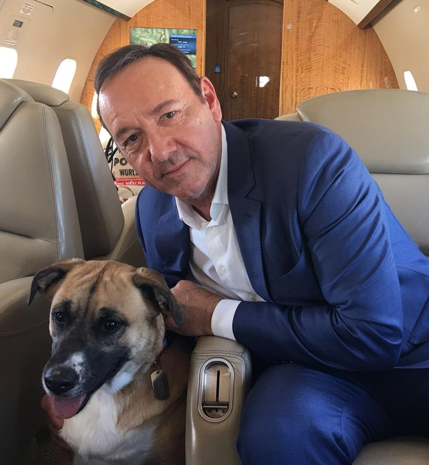 Kevin Spejsi/ Photo: Facebook @KevinSpacey