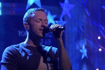 Kris Martin. Coldplay/Photo: YouTube printscreen