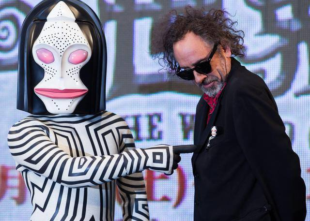 Tim Barton/Photo: facebook@TimBurton