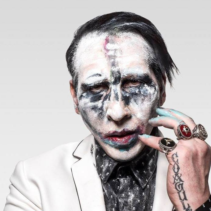 Merilin Menson/Photo: facebook@MarilynManson